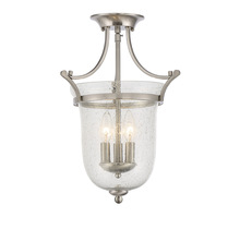 Savoy House 6-7133-3-SN - Trudy 3 Light Semi-Flush