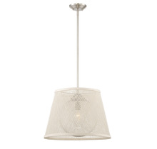 Savoy House 7-1141-1-SN - Messina 1 Light Outdoor Pendant