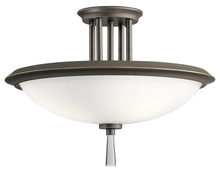 Kichler 43960OZ - Semi Flush 3Lt