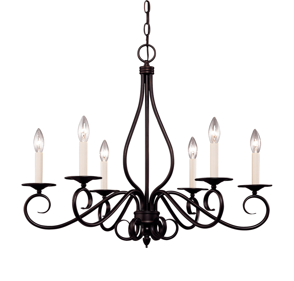 Notoco Industries, LLC in Baton Rouge, Louisiana, United States, Savoy House KP-103-6-13, Oxford 6 Light Chandelier, Oxford