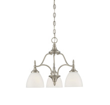Savoy House 1-1000-3-SN - Herndon 3 Light Chandelier