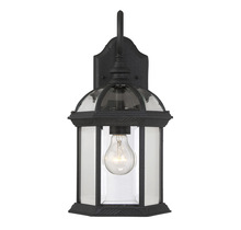 Savoy House 5-0633-BK - Kensington Wall Mount Lantern