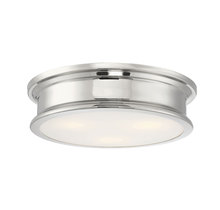 Savoy House 6-133-16-109 - Watkins Polished Nickel Flush Mount