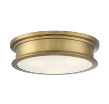 Savoy House 6-133-16-322 - Watkins Warm Brass Flush Mount