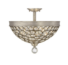 Savoy House 6-832-3-211 - Obsidian 3 Light Crystal Semi-Flush