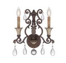 Savoy House 9-3013-2-8 - St. Laurence 2 Light ADA Sconce