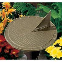 Whitehall 00477 - DAY SAILOR SUNDIAL OIL RUBBED BRONZE