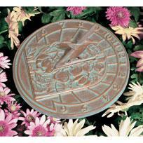 Whitehall 00486 - HUMMINGBIRD SUNDIAL COPPER VERDI