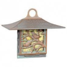Whitehall 01363 - NUTHATCH SUET FEEDER FRENCH BRONZE