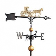 "Whitehall 01732 - 30"" Full-Bodied Copper Country Doctor Weathervane"