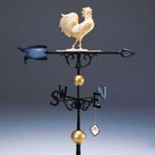 "Whitehall 02050 - 46"" Traditional Rooster Weathervane"