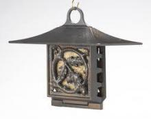 Whitehall 30054 - OAKLEAF SUET FEEDER COPPER VERDI