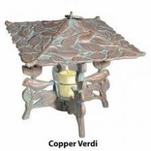 Whitehall 30065 - DAFFODIL TWILIGHT LANTERN COPPER VERDI