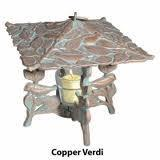 Whitehall 30067 - PINECONE TWILIGHT LANTERN COPPER VERDI