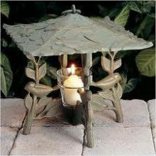 Whitehall 30334 - CHICKADEE TWILIGHT LANTERN FRENCH BRONZE