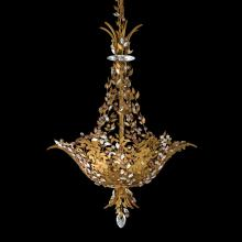 Schonbek AM5506N-22THA - Amytis 3 Light 110V Chandelier in Heirloom Gold with Thaw Crystals From Swarovski