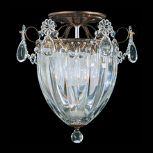 Schonbek 1242-26 - Bagatelle 3 Light 110V Close To Ceiling In French Gold With Clear Heritage Crystal