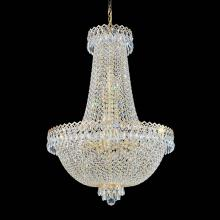 Schonbek 2624-211 - Camelot 16 Light 110V Chandelier in Polished Gold with Clear Gemcut Crystal