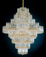 Schonbek 2726-40 - Equinoxe 45 Light 110V Chandelier in Silver with Clear Gemcut Crystal