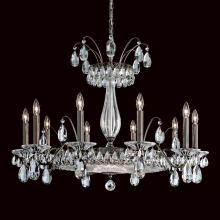 Schonbek FL7710N-76H - Fontana Luce 13 Light 110V Chandelier in Heirloom Bronze with Clear Heritage Crystal