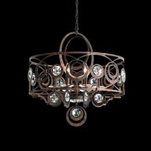 Schonbek WB1008N-23H - Gwynn 8 Light 110V Chandelier in Etruscan Gold with Clear Heritage Crystal