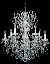 Schonbek 3657-22H - New Orleans 10 Light 110V Chandelier in Heirloom Gold with Clear Heritage Crystal
