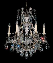 Schonbek 3770-22 - Renaissance 7 Light 110V Chandelier in Heirloom Gold with Clear Heritage Crystal