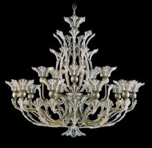 Schonbek 7864-76A - Rivendell 16 Light 110V Chandelier in Heirloom Bronze with Clear Spectra Crystal