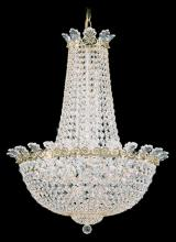 Schonbek 3716-49A - Roman Empire 16 Light 110V Chandelier in Black Pearl with Clear Spectra Crystal