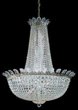 Schonbek 3720-40A - Roman Empire 28 Light 110V Chandelier in Silver with Clear Spectra Crystal