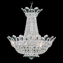 Schonbek 5870A - Trilliane 12 Light 110V Chandelier in Silver with Clear Spectra Crystal