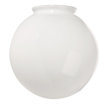 "Craftmade K088 - 4"" Fan Glass, Sphere Shaped in White"