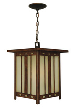 Craftmade Z3921-92 - One Light Oiled Bronze Hanging Lantern