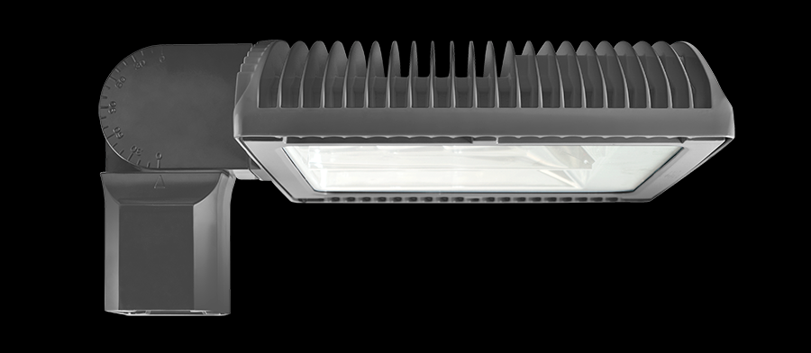 ROADWAY TYPE IV 125W WARM LED SLIPFITTER 277V PCS BRONZE