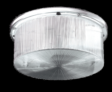 "RAB Lighting VAN11I120 - VANDALPROOF 11"" ROUND 2 X 60W INCANDESCENT"