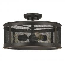 Capital 9617OB - 3 Light Outdoor Semi-Flush