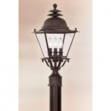 Troy P6035CI - Brookline 3Lt Post Lantern Out When Sold Out