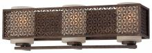 Minka Metropolitan n2723-258 - Three Light Scavo Glass French Bronze Vanity