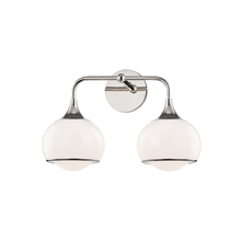 Mitzi by Hudson Valley Lighting H281302-PN - 2 Light Wall Sconce