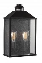 Generation Lighting - Feiss OL18011ORB - 2 - Light Outdoor Wall Sconce