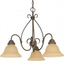 Nuvo 60/1021 - Castillo 3 Light Chandelier
