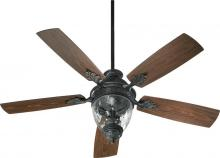 "Quorum 174525-995 - 52"" Georgia Patio Fan -Ow"