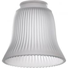 "Quorum 2292 - 2.25"" FROST RIBBED BELL"