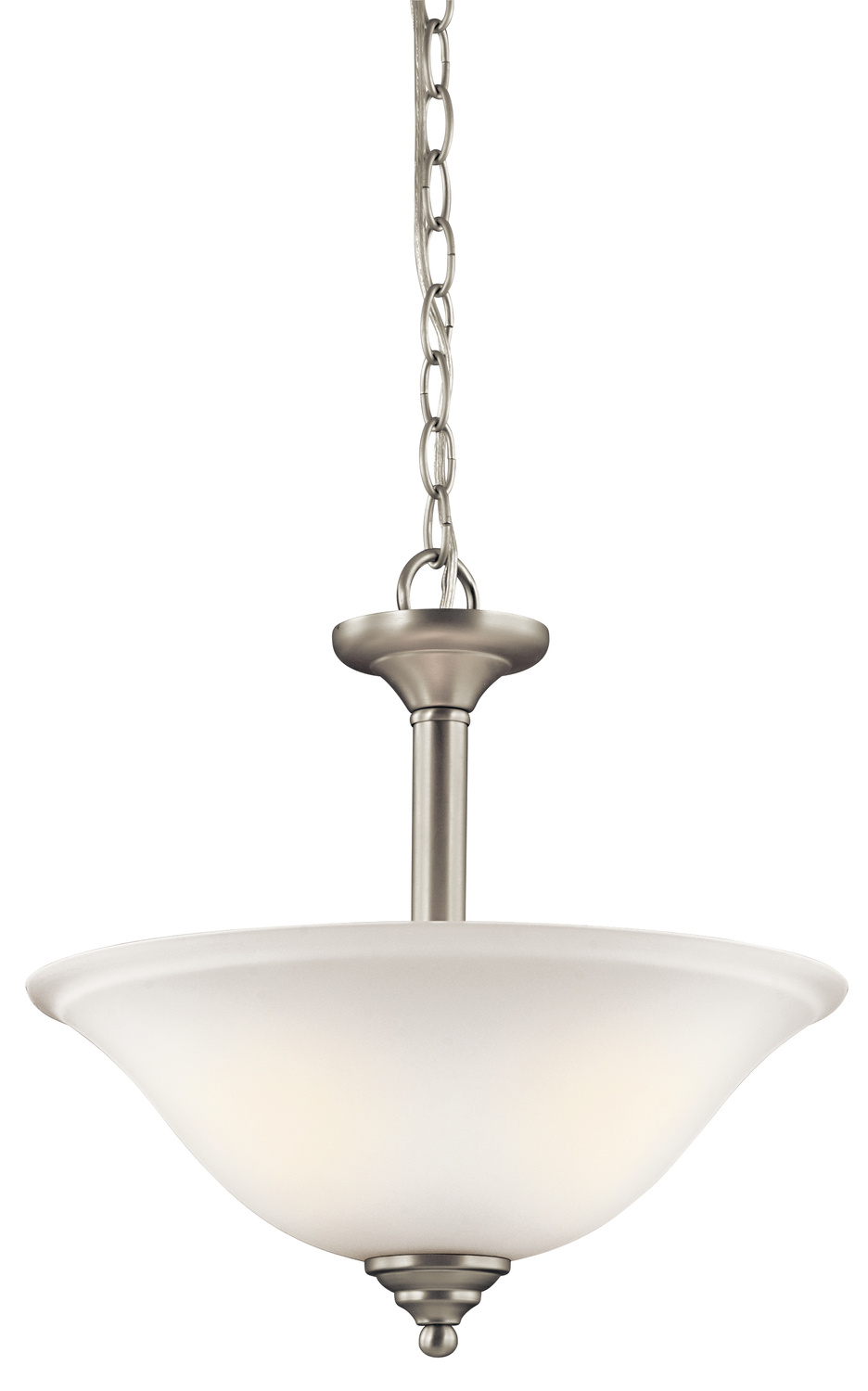 Notoco Industries, LLC in Baton Rouge, Louisiana, United States, Kichler 3694NIW, Pendant/Semi Flush 2Lt, Armida