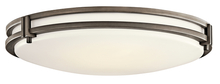 Kichler 10828OZ - Flush Mount 3Lt Fluorescent