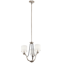 Kichler 43531CLP - Mini Chandelier 3Lt