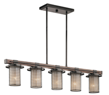 Kichler 43590AVI - Linear Chandelier 5Lt