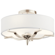 Kichler 44314PN - Flush Mount 3Lt