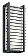 Kichler 49786BKLED - Outdoor Wall LED