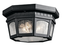 Kichler 9538BKT - Outdoor Ceiling 3Lt